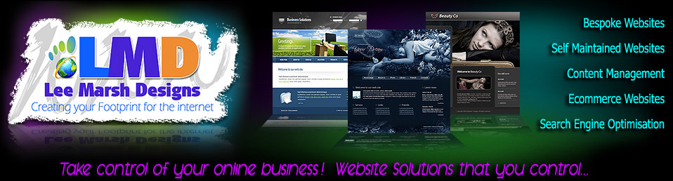 Website Design Based In Chesterfield - Lee Marsh Design