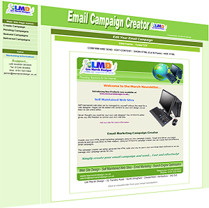 email marketing html email campaign creator bulk mailshots