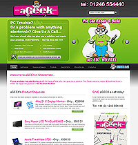 Web Site Design Chesterfield - Ageek