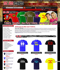 Web Site Design Chesterfield - Not Just T Shirts