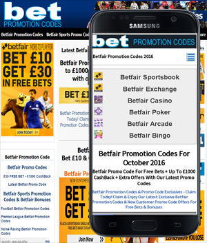Bet Promotion Codes