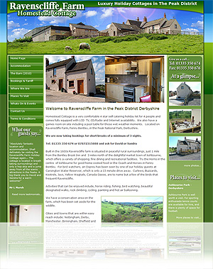 Holiday Home and Holiday Let Self Maintained Websites