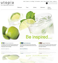 Web Site Design Chesterfield - Utopia